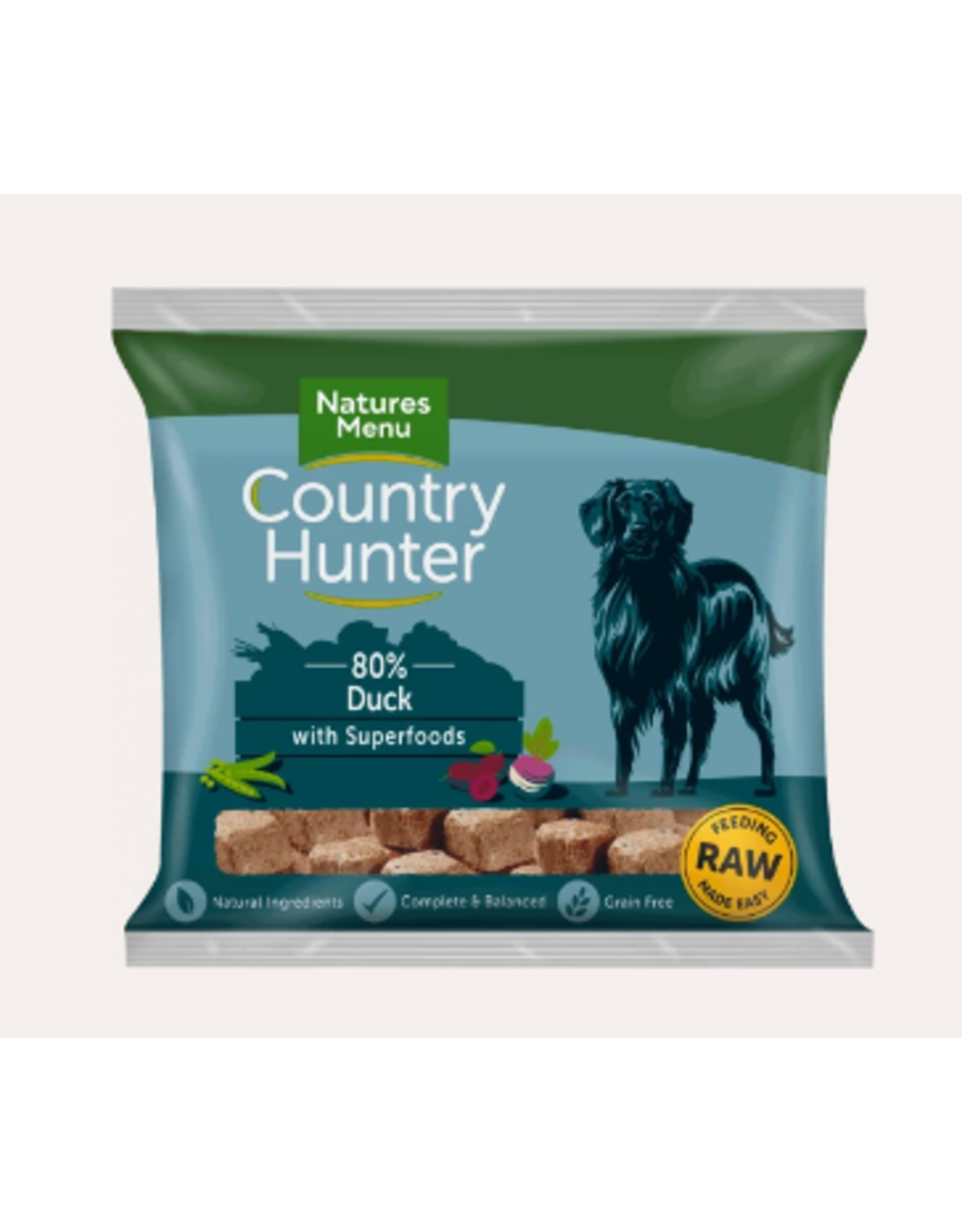 Natures Menu Country Hunter Nuggets Duck 1kg