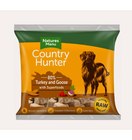 Natures Menu Country Hunter Nuggets Turkey & Goose 1kg