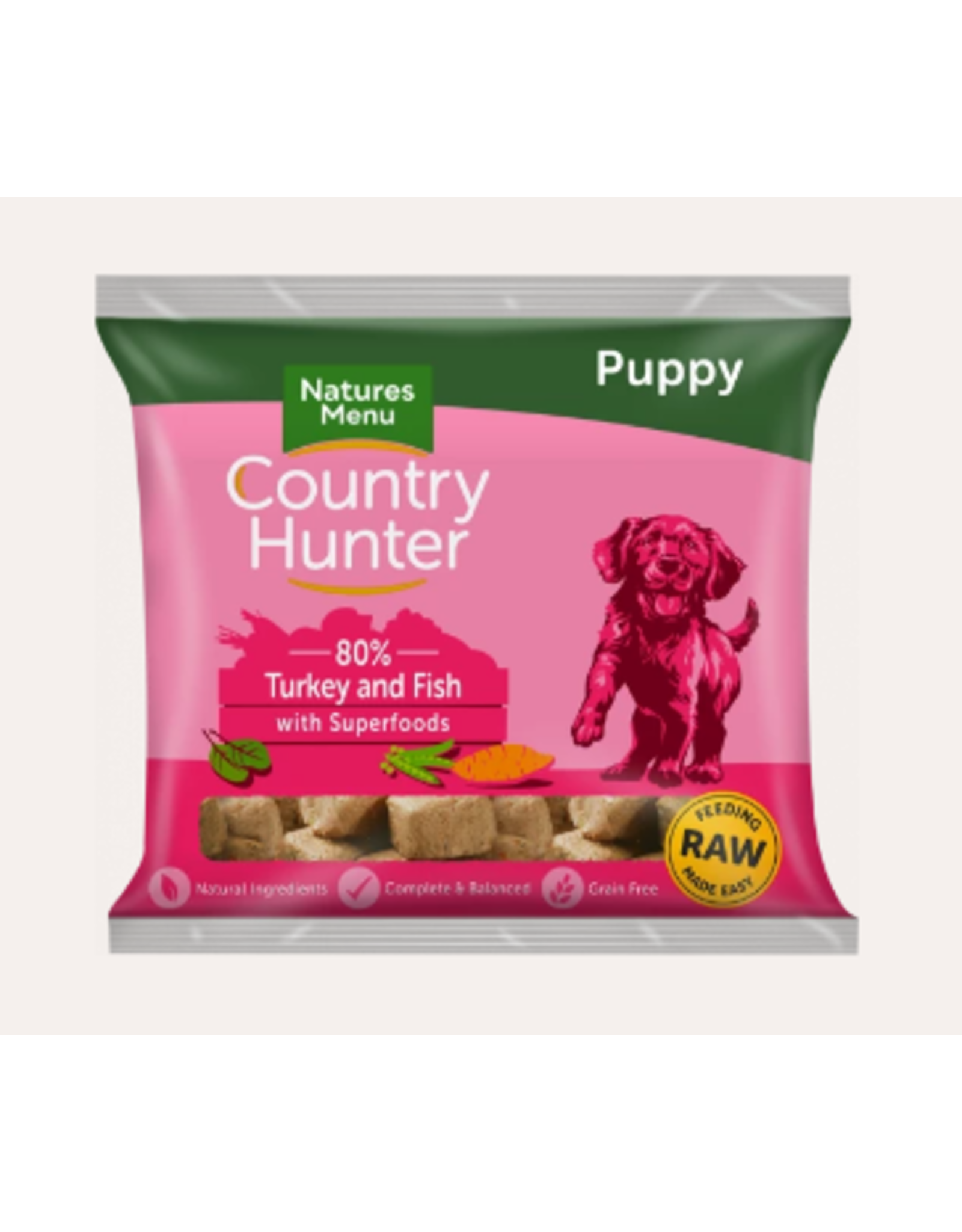 Natures Menu Country Hunter Nuggets Puppy 1kg