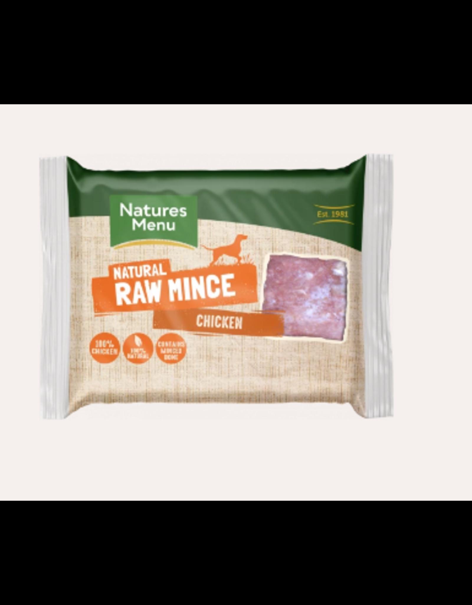 Natures Menu NM Chicken Mince Block 400g Single