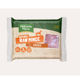 Natures Menu NM Chicken Mince Block 400g Single