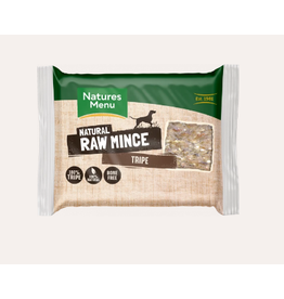 Natures Menu NM Tripe Mince Block 400g Single