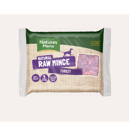 Natures Menu NM Turkey Mince Block Single 400g