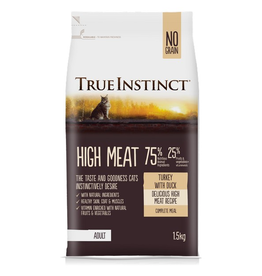 Natures Menu True Instinct Cat High Meat Turkey & Duck 1.5kg