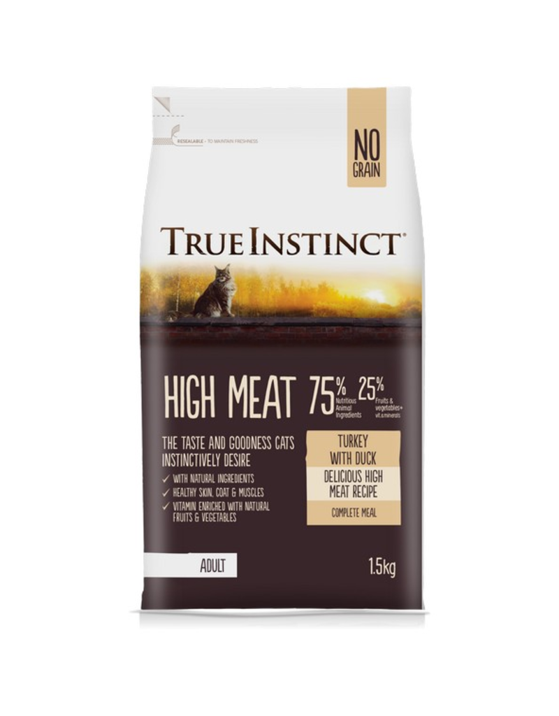 Natures Menu True Instinct Cat High Meat Turkey & Duck 1.5kg