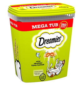 Dreamies Dreamies Mega Tub Tuna 350g