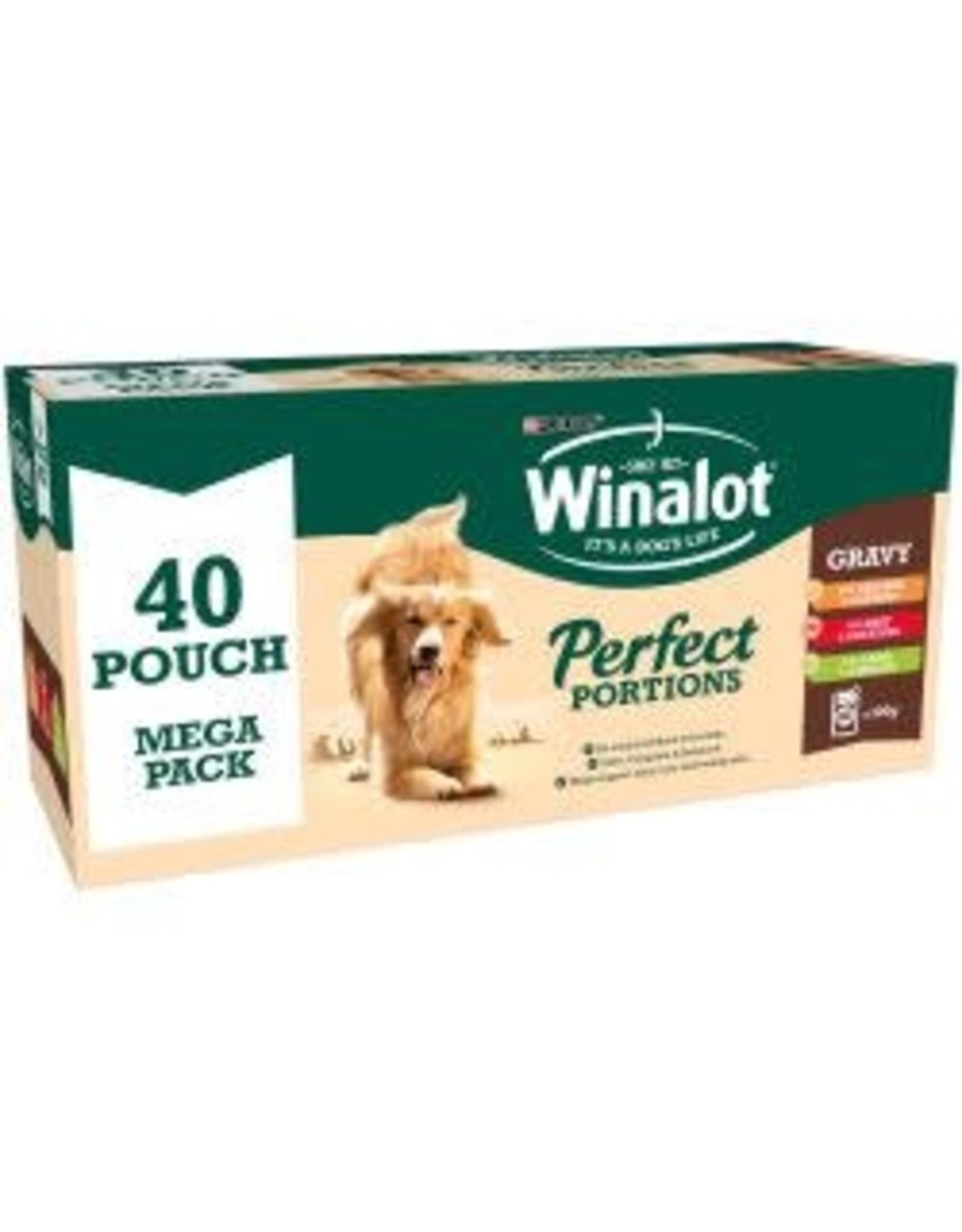 Winalot Winalot Pouch Mixed Chunks In Gravy 40 Pack