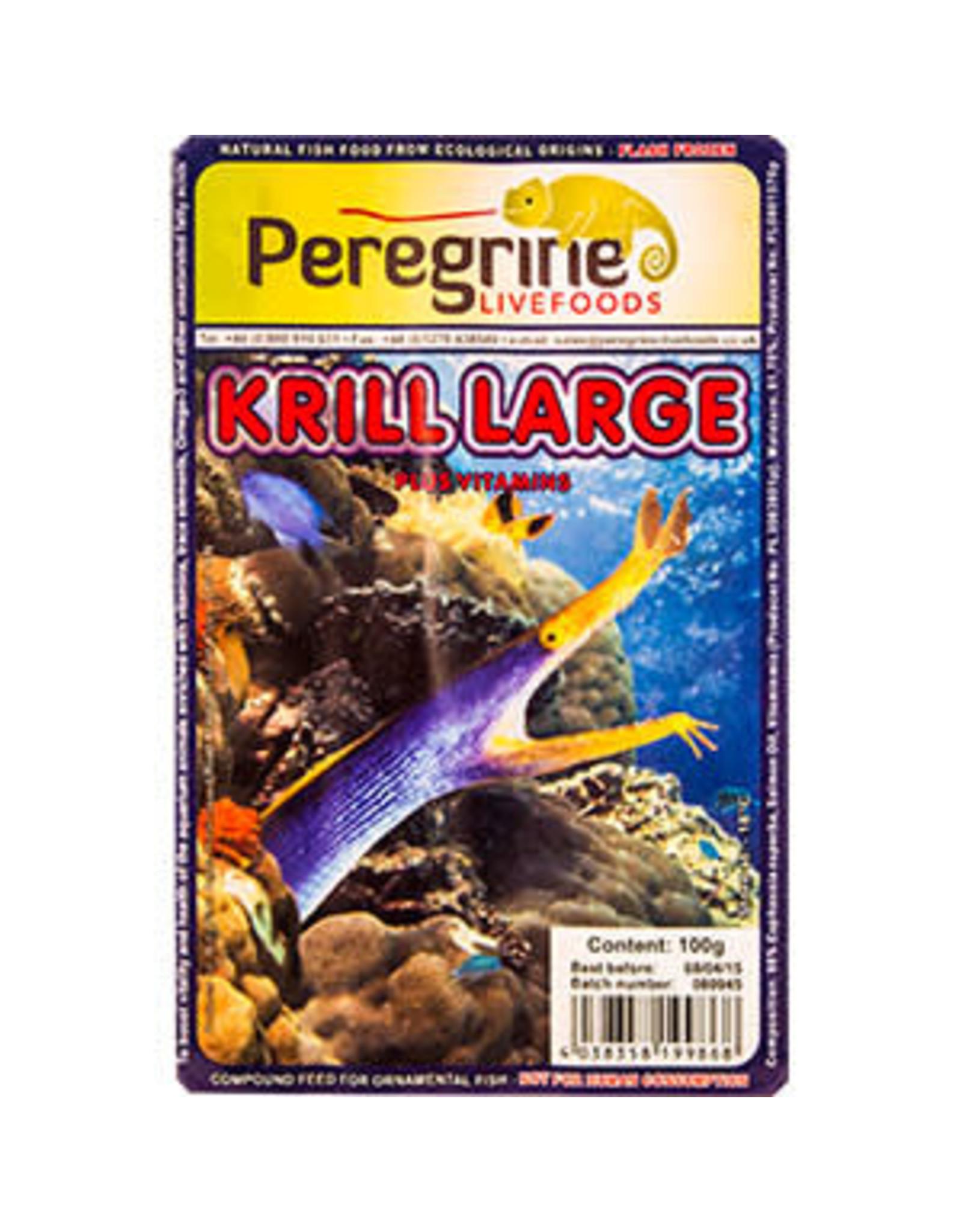 peregrine Frozen Krill Large Blister Pack 100g
