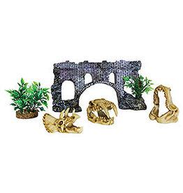 Aqua Spectra AQ 5 Piece Decorative Aquarium Box Set