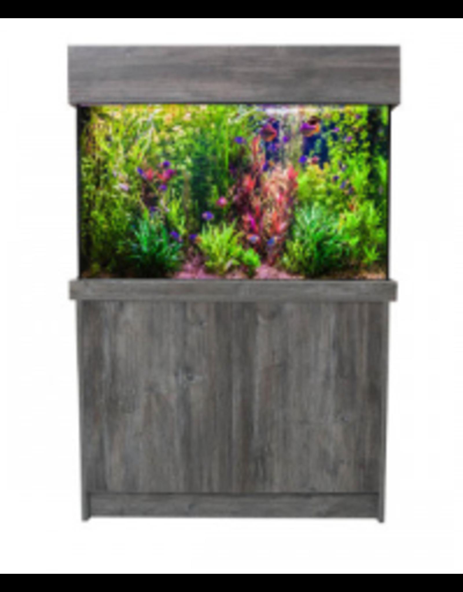 J&K Aquatics Amazon Pasadena Pine Aquarium & Cabinet