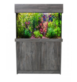 J&K Aquatics Amazon Pasadena Pine Aquarium & Cabinet