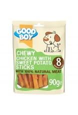 Armitage GB Chewy Chicken & Sweet Potato Sticks 90g
