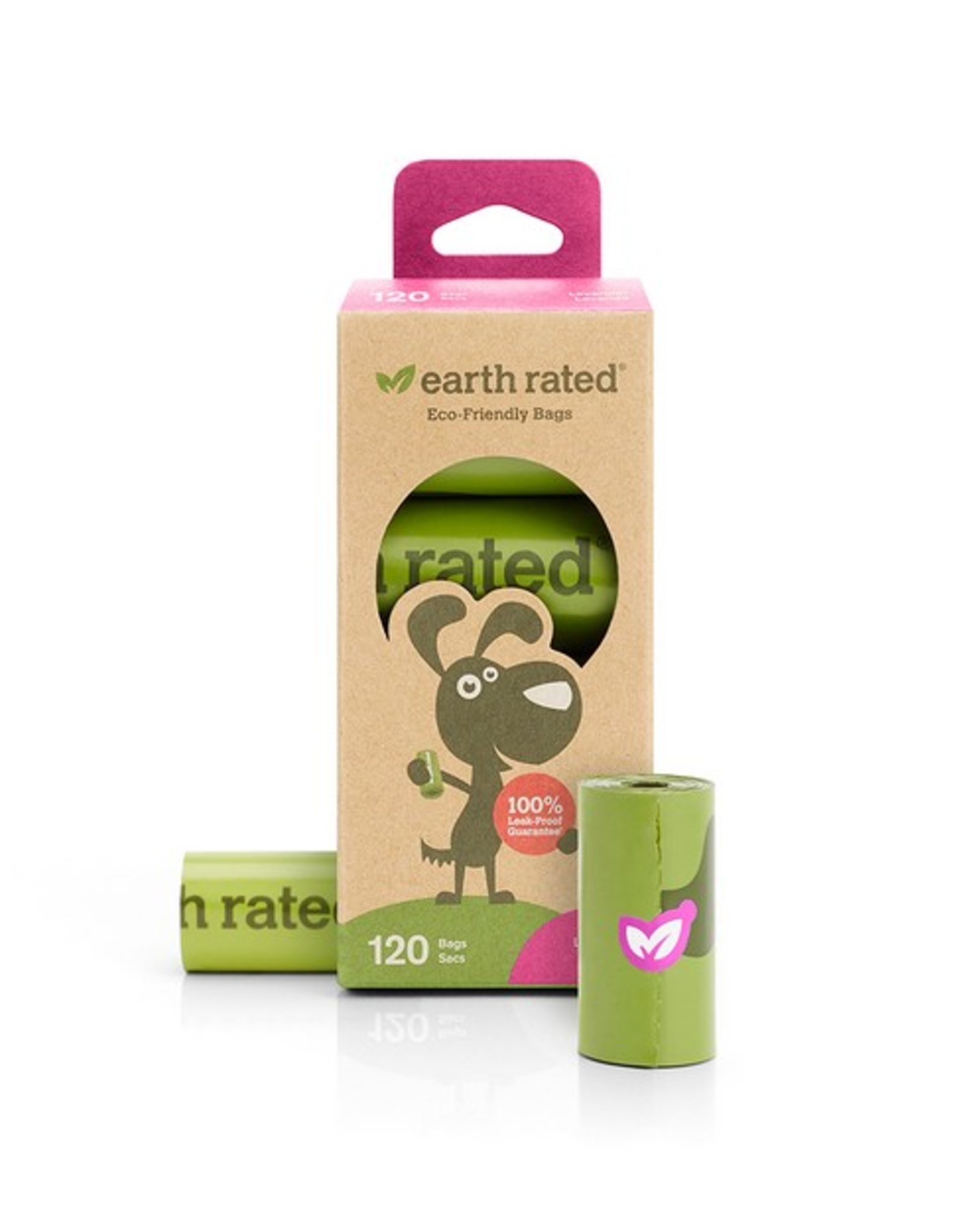 Earth Rated Earth Rated Poop Bags Roll Lavender 8 x 15 Bags
