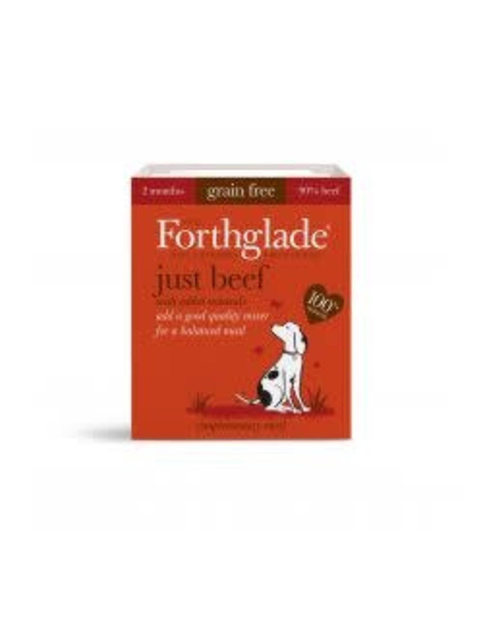 Forthglade Forthglade Just Beef Grain Free Single