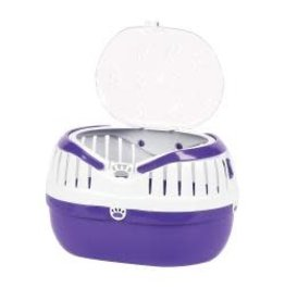 Happy Pet Small Animal Carrier Purple Large