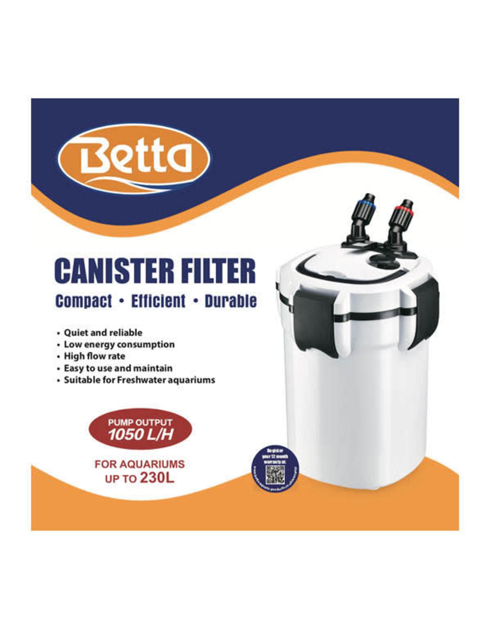 Betta Betta 1050 External Canister Filter