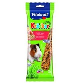 Vitakraft Vitakraft Guinea Pig Kracker Fruit 2 Stick