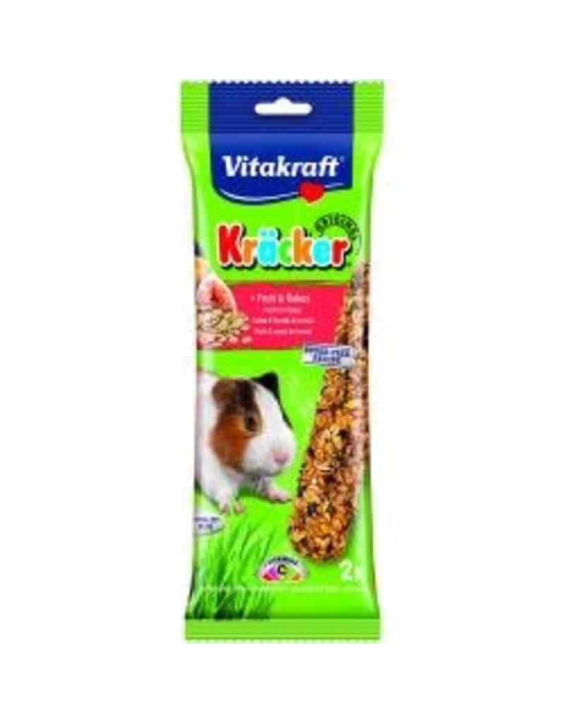 Vitakraft Vitakraft Guinea Pig Kracker Fruit 2 Stick