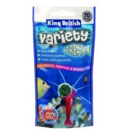 King British King British Variety Fish Treats 40g