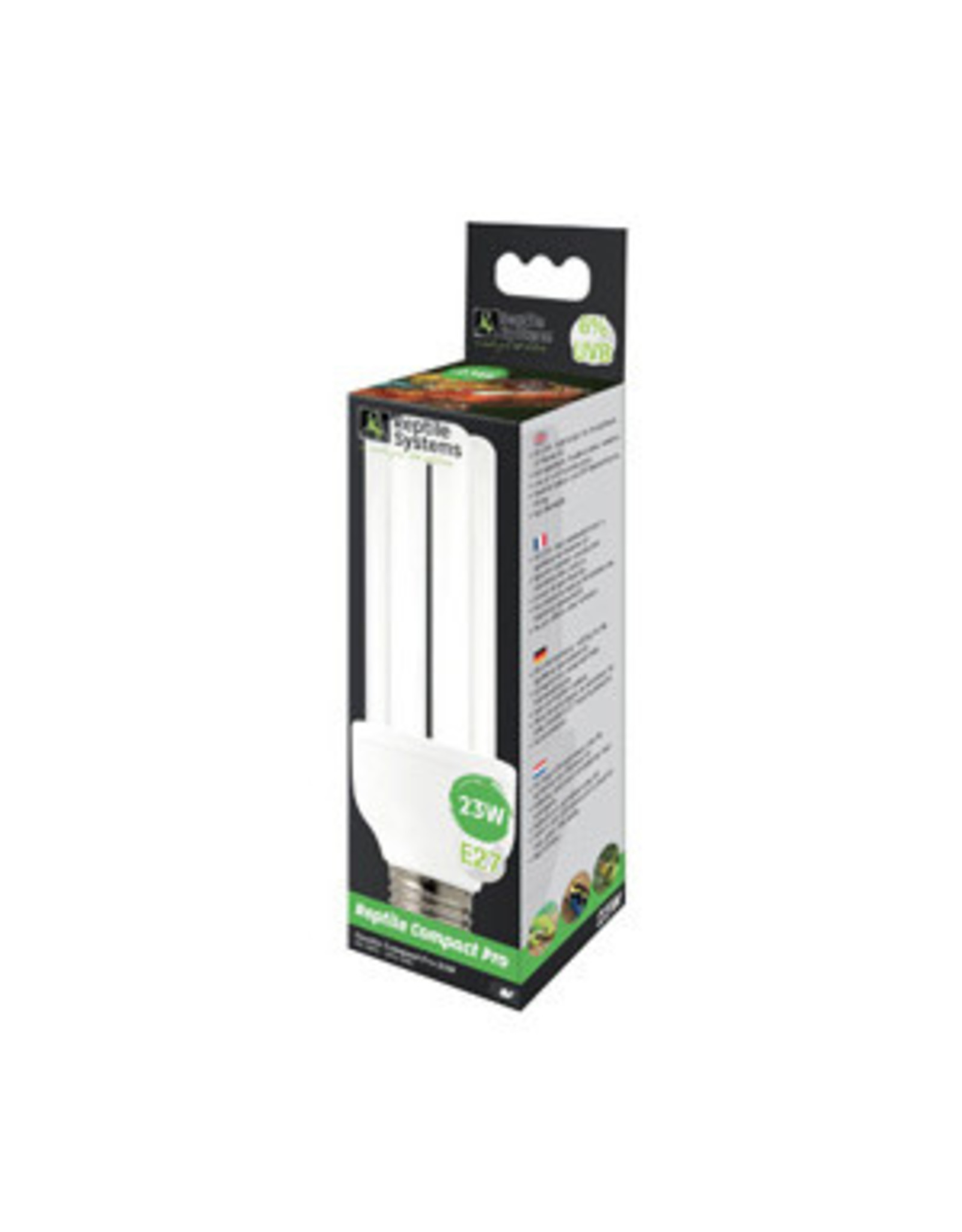 Reptile Systems RS Compact UVB Lamp Pro 6% 23w