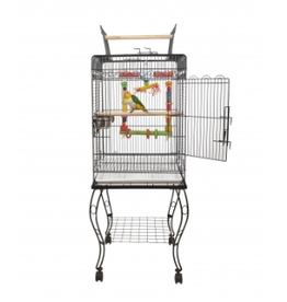 Sky Pet Products Liberta Gama Black Cage