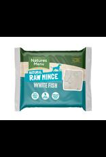 Natures Menu NM White Fish Mince 400g Block Single