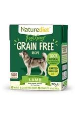 Nature Diet Nature Diet Grain Free Dog Food Lamb 390g