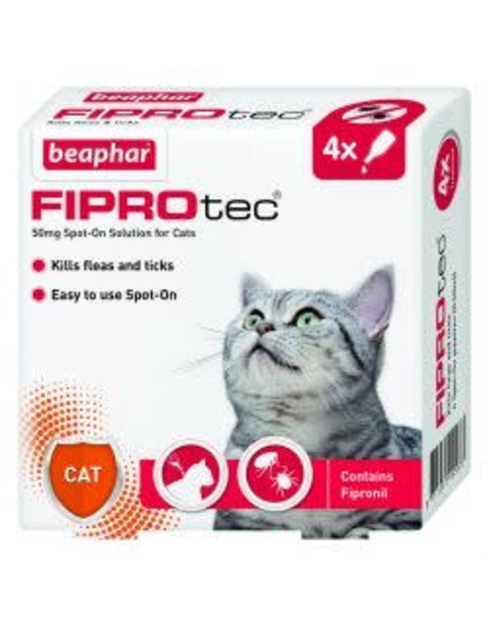 Beaphar FIPROtec Spot On Cat 4 Pipette