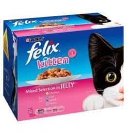 Felix Felix Kitten Mixed Selection In Jelly