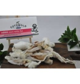 Cotswold Raw Cotswold Raw Rabbit Ear With Fur (Dried) 100g