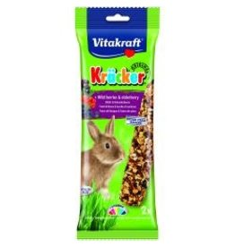 Vitakraft Vitakraft Rabbit Sticks Wild Berry 2 Pack