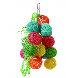 Sky Pet Products Cascading Bouquet Toy