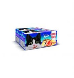 Felix Felix Pouches Mixed Selection In Jelly 96 Pack