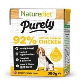 Nature Diet Nature Diet Purely Chicken 390g