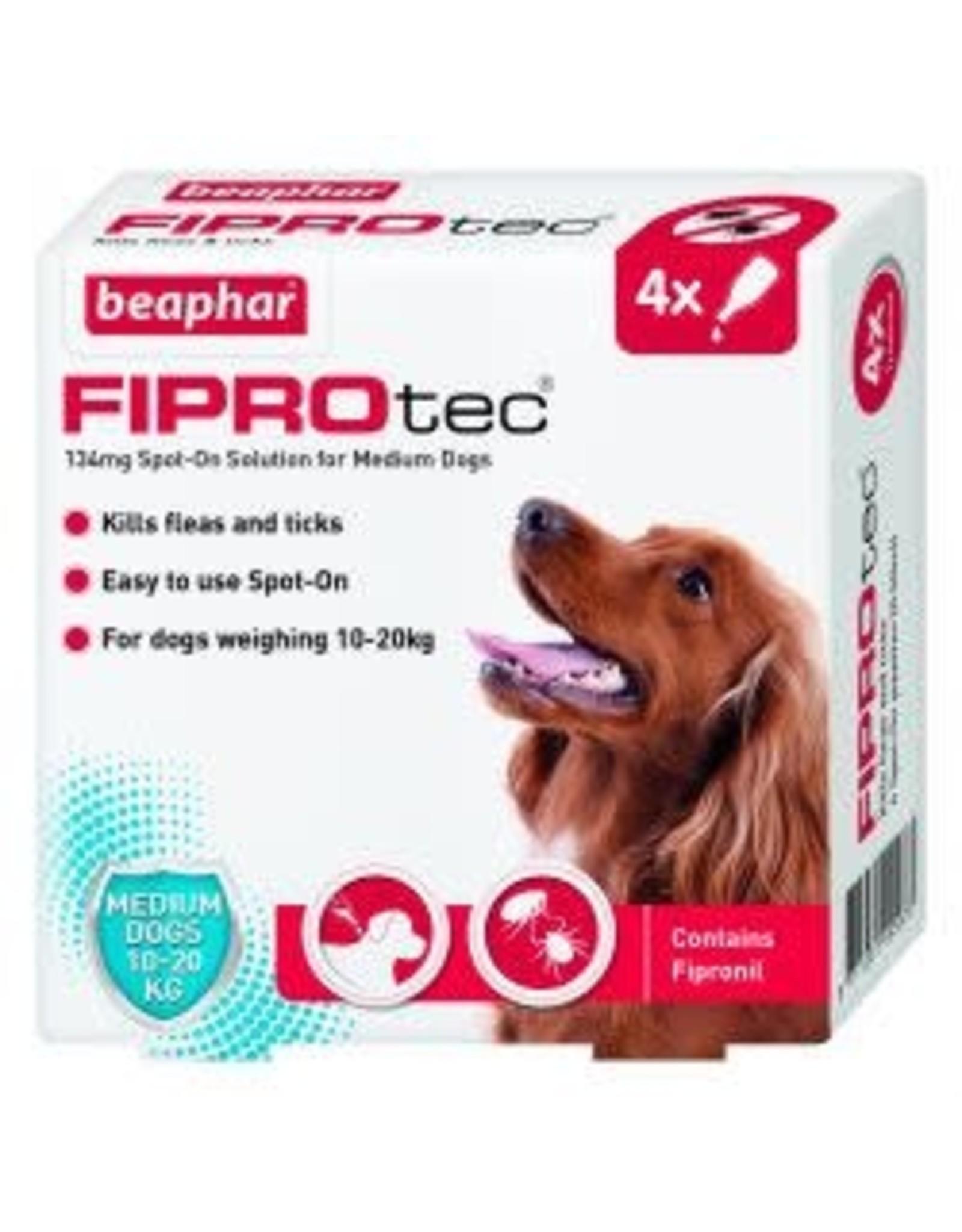Beaphar Fiprotec Spot On Medium Dog 4 Pipette