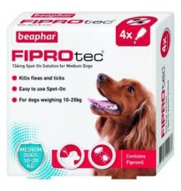 Beaphar Fiprotec Spot On Medium Dog 4 Pipette