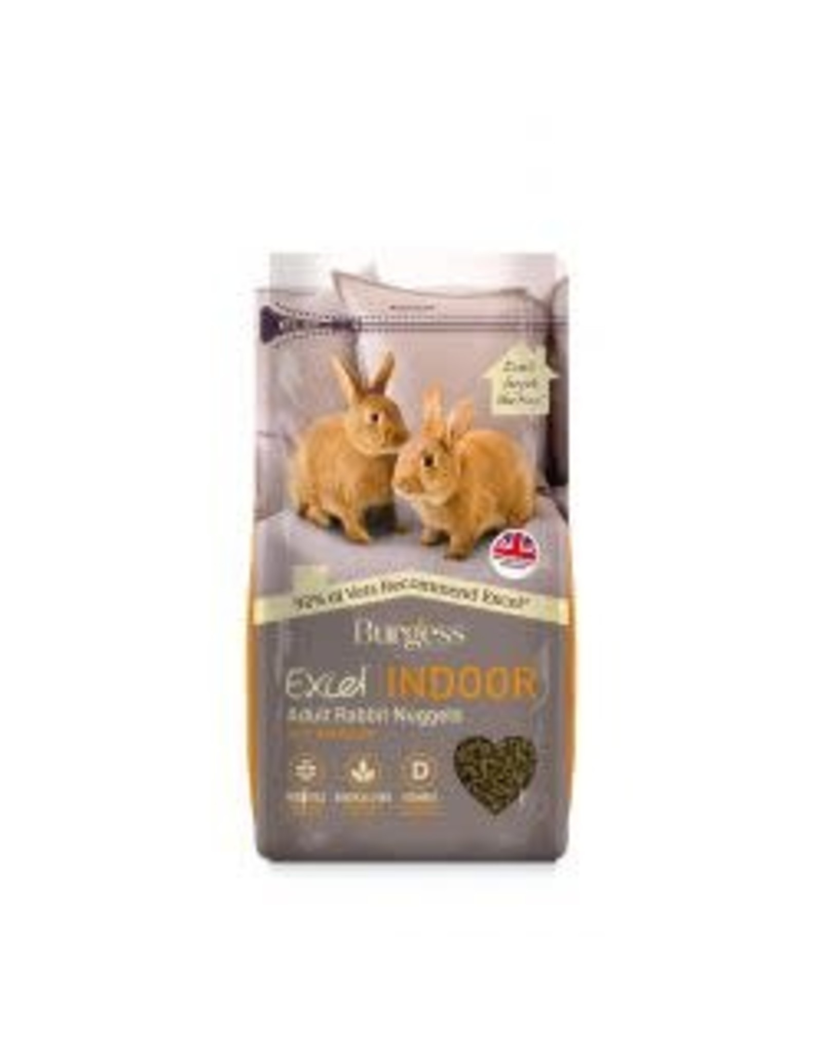 Burgess Burgess Excel Rabbit Indoor 1.5kg