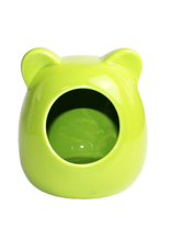 Happy Pet Small Animal Ceramic House Green
