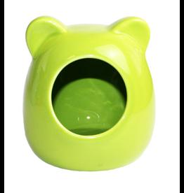 Happy Pet Small Animal Ceramic House Green