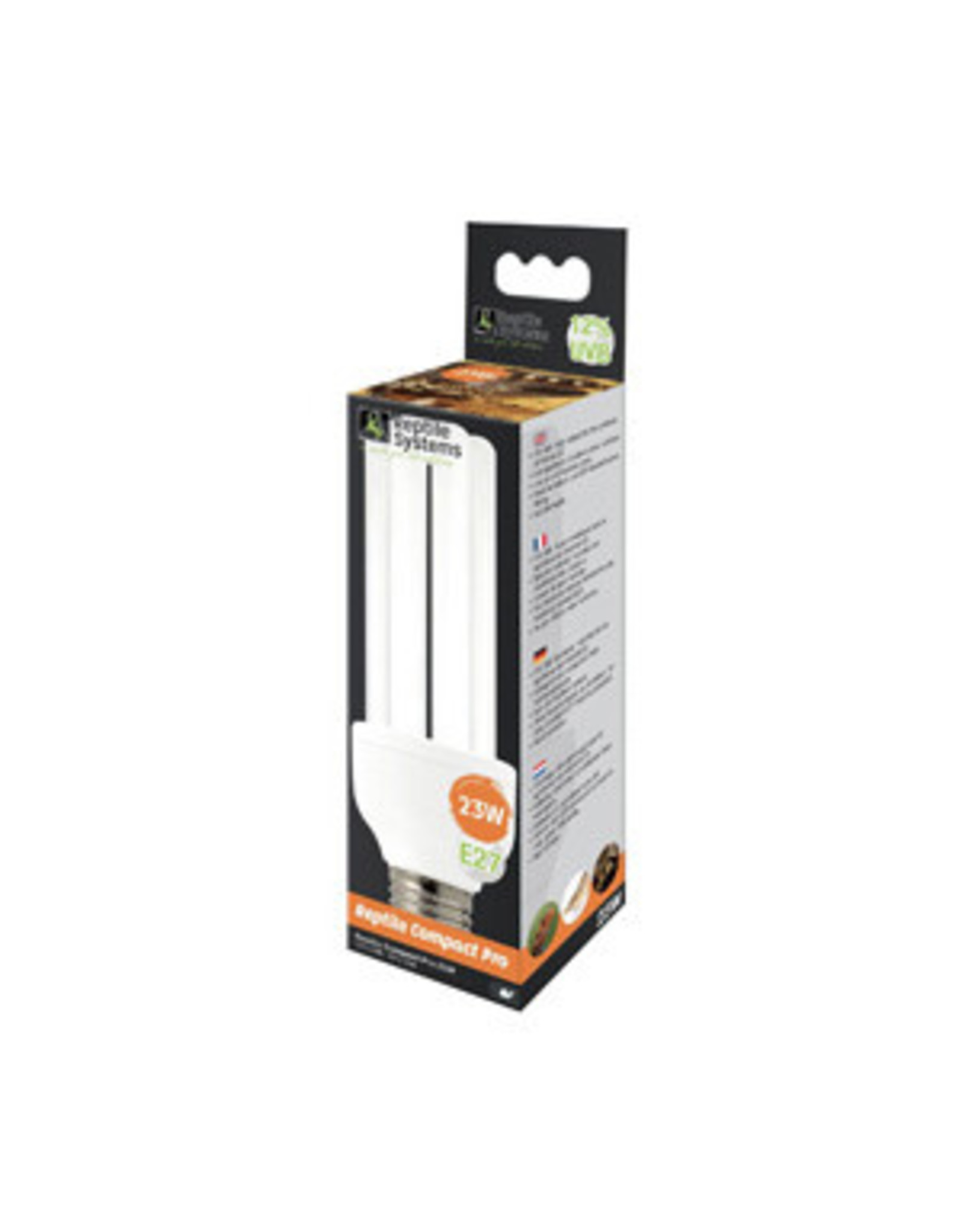 Reptile Systems RS Compact UVB Lamp Pro 12% 23w