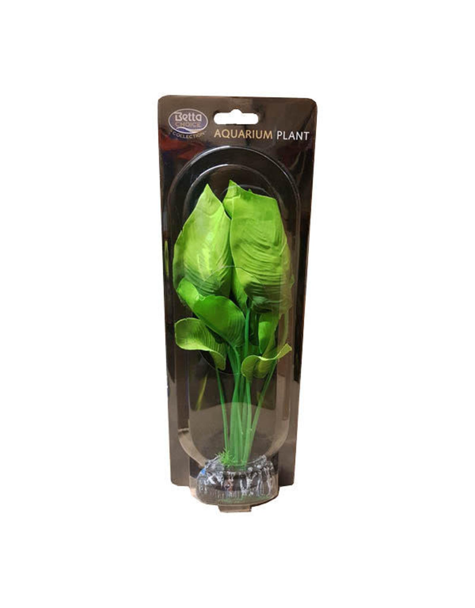 Betta Betta Choice 30cm Silk Green Plant Spatterphyllum