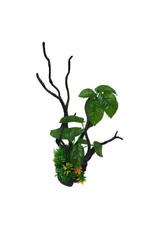 Betta Betta Plastic Driftwood With Plant 39cm