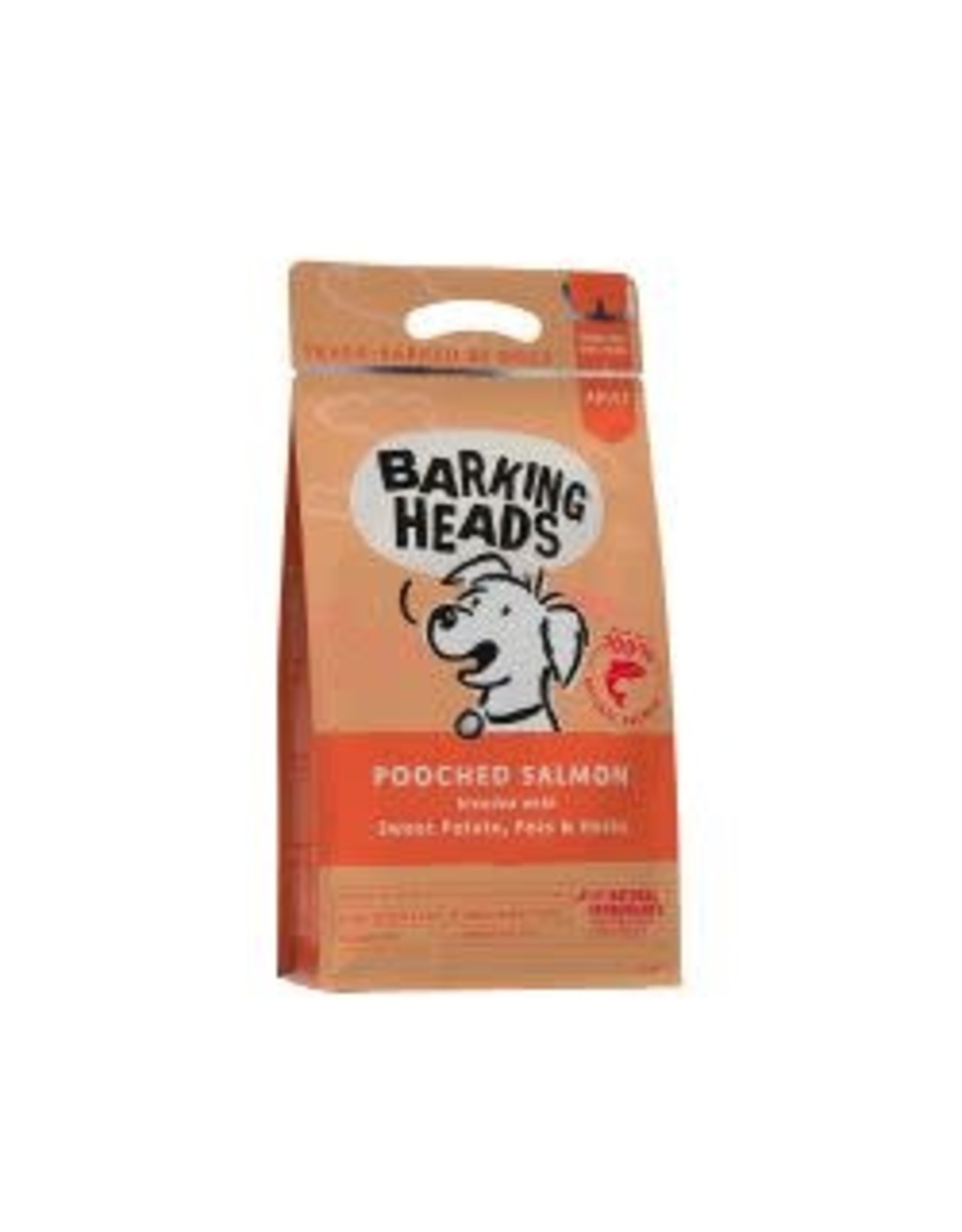 Barking Heads Barking Heads Pooched Salmon 2kg