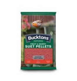 Bucktons Suet Pellet Fruit & Berry 1kg