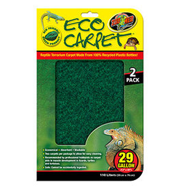Zoo Med ZM Eco Carpet 29 Gal (30 x 76cm) 2 Pack
