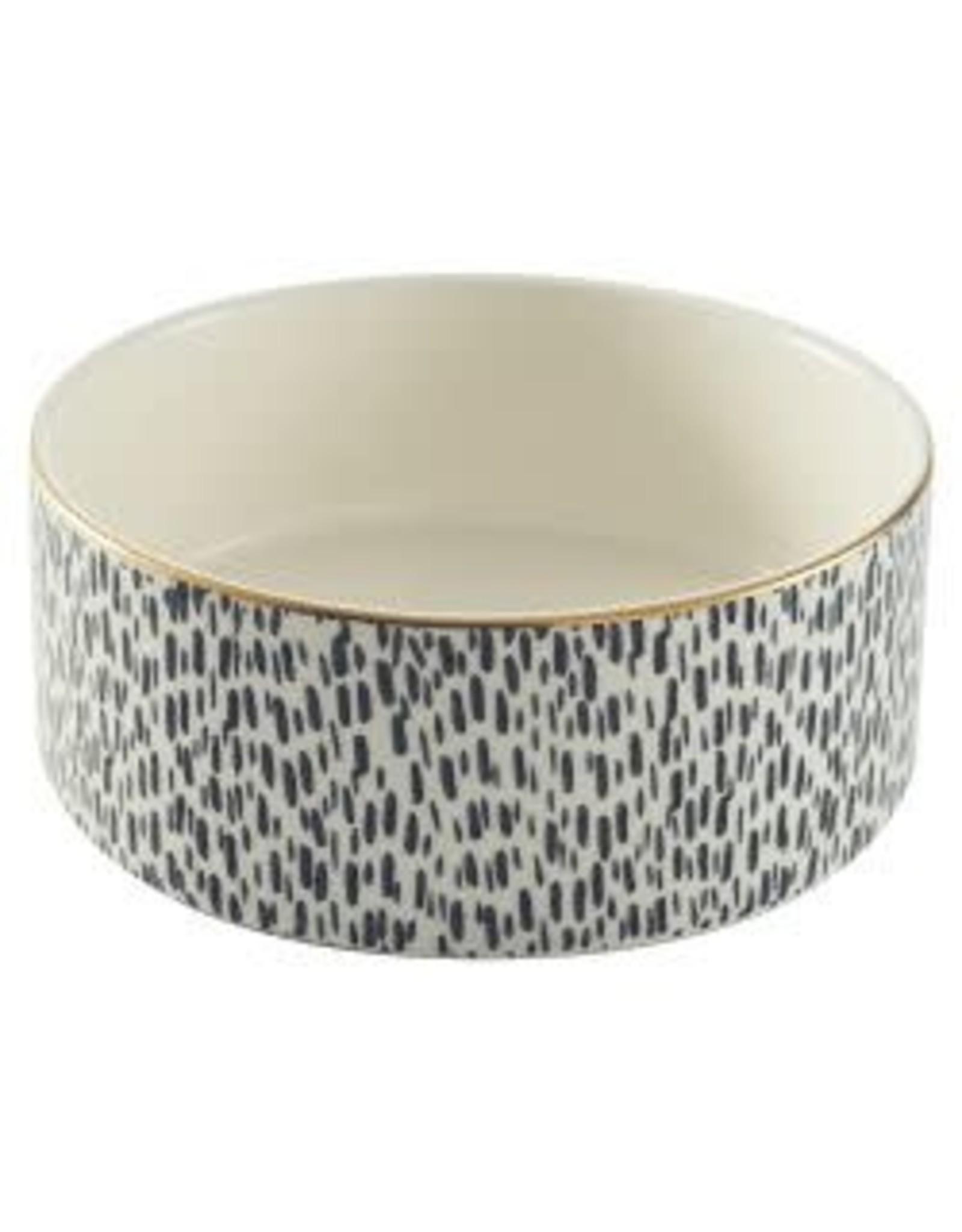 Mason Cash MC Splatter Gold Rim Bowl