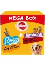 Pedigree Pedigree Rodeo Duo & Jumbone Medium Mega Box