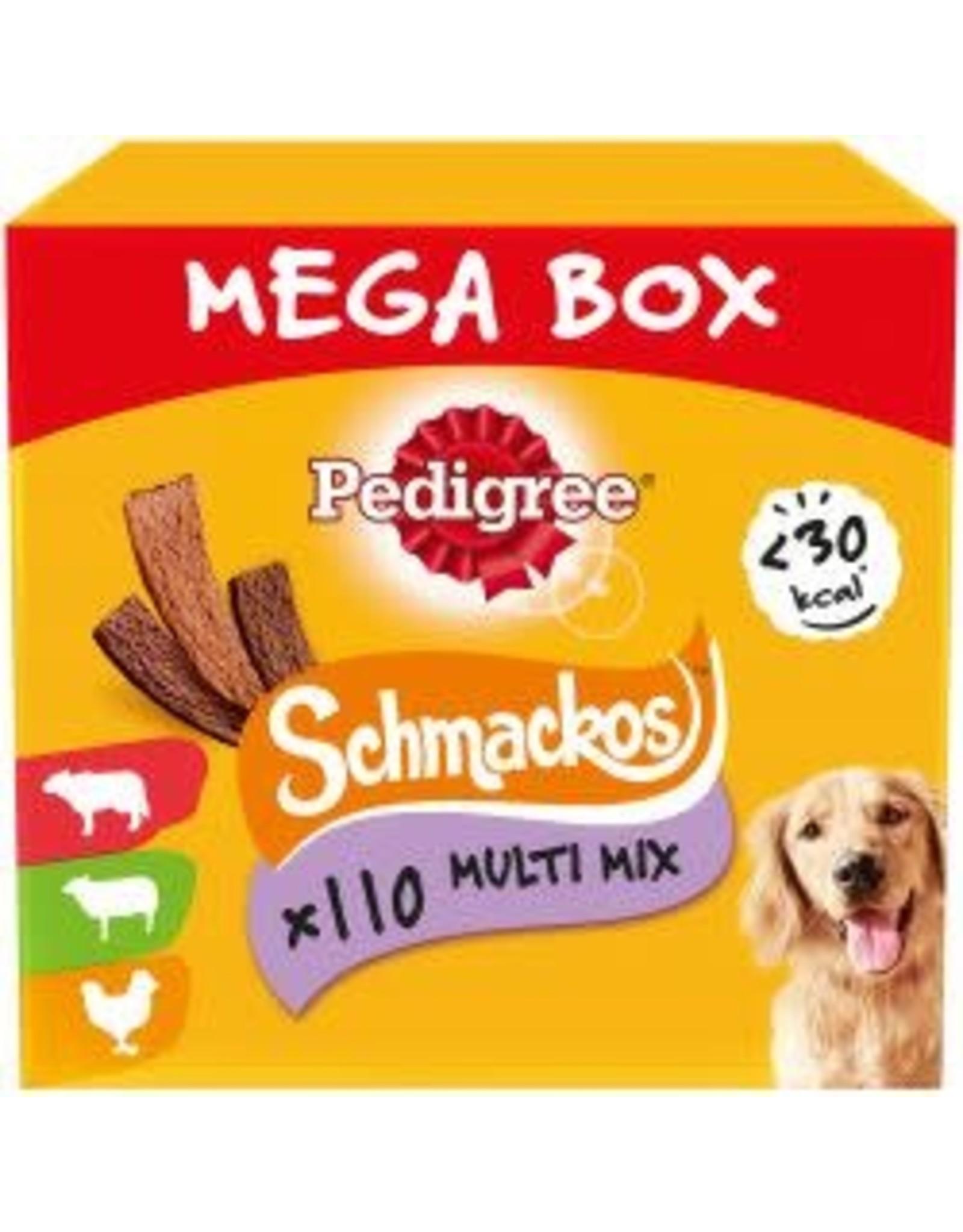 Pedigree Pedigree Schmackos Variety 110 Stick Mega Box