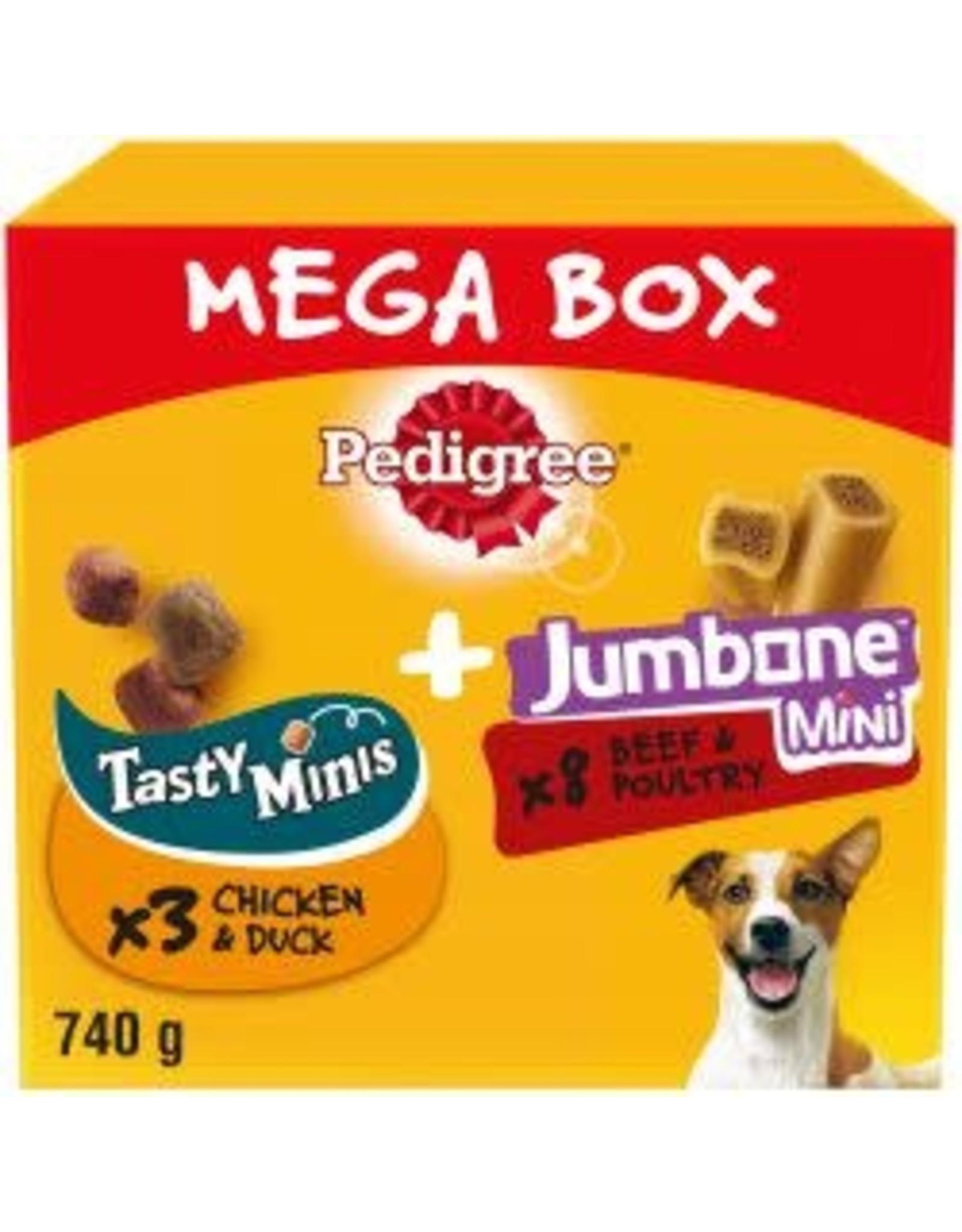 Pedigree Pedigree Tasty Minis & Jumbone Small Mega Box