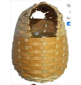 Adventure Bound Wicker Nest Basket